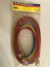 Ritchie Yellow Jacket Plus II Refrigeration Charging Hose 3 Pack NEW