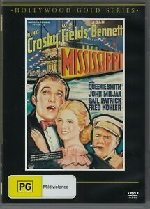 Mississppi  - Bing Crosby W.C Fields New and Sealed DVD
