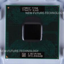 SLAXH SLA49- Intel Core 2 Duo T7250 2.0 GHz 2 MB 800 MHz US free shipping