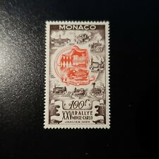 MONACO N°420 RALLYE AUTOMOBILE DE MONTE-CARLO NEUF ** LUXE MNH COTE 135€