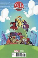Age Of Ultron Comic 1 Cover E Baby Variant Skottie Young First Print 2013 Bendis