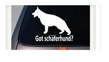 """Got Schäferhund? German Shepherd Dog Window 6"""" Decal Sticker Malinois Schutzhund"""