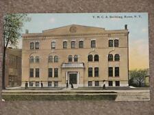 Y.M.C.A Building, Rome, N.Y.  unused vintage card