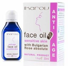 Ikarov Face Oil With Bulgarian Rose Absolute 30ml Anti-aging for Dry Skin
