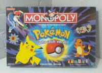 MONOPOLY POKEMON COLLECTORS EDITION BOARD GAME - HASBRO WADDINGTONS