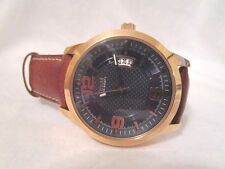 GUESS DISTRICT WATCH MENS W0494G2 ROSE GOLD STAINLESS STEEL LEATHER      (23)