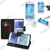 Etui Housse Portefeuille Samsung Galaxy J5 SM-J500F + 1 Film Verre Trempe