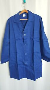 Jacket Work Blue Bugatti Cotton Moleskine New Size L 'FR46 / 48 USA /UK36/ 38