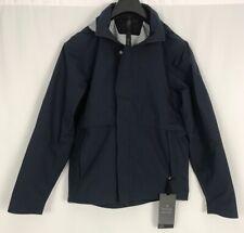 lululemon Storm Break Rain Jacket Men's Small Windbreaker True Navy LM4827S  NEW