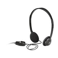 Casque audio stereo filaire Logitech Dialog 220 jack 3.5 MM avec réglage volume