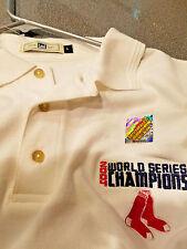 VINTAGE RARE BOSTON RED SOX 2004 WORLD SERIES CHAMPIONS Golf Shirt...Large...NEW