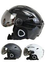 Ski Helmet Goggles Visor Snowboard Moto Snowmobile Skateboard Safety Warm Mask
