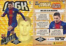 N°397 MESSI # ARGENTINA FC.BARCELONA MEGACRACKS CARD PANINI LIGA 2014