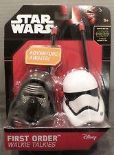 NEW DISNEY Star Wars The Force Awakens First Order Walkie Talkie Set Kid Design