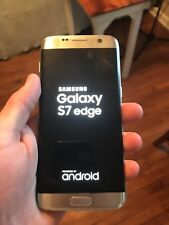 Samsung Galaxy S7 edge SM-G935 -32GB-Silver Titanium (Cricket Wireless) **Read**