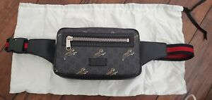 Gucci Bestiary belt fanny bag with tigers Gucci Tiger GG Supreme belt bag $980