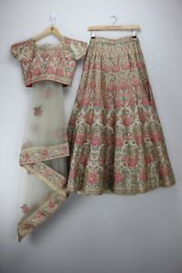 Anjaani Brand Indian Wedding Lehenga Choli Size (S) Brand New