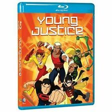Young Justice Complete First Season Blu Ray Mod Region 1 Shipp