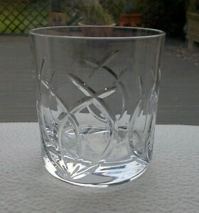 "Royal Doulton Crystal SYMPHONY 3 3/4"" Whisky Tumbler / Glass ~ Signed"