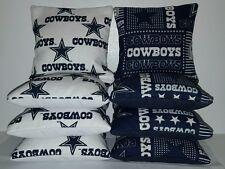 Set Of 8 DALLAS COWBOYS Regulation Cornhole Bean Bags ***FREE SHIPPING***