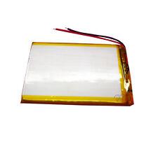 3.7V 2500 mAh Li-polymer Rechargeable battery Li-ion Li 406090 for Tablet PC