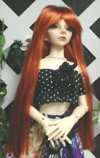 Monique Doll Wig size 5//6 New in Box ~ LORRAINE ~ carrot red ~ LOVELY!