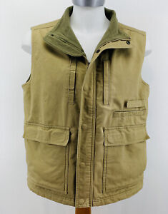 RedHead Mens Sz L Utility Vest with Game Pouch Green Pockets Hunting Hiking EUC