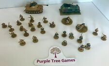 Bolt Action 28mm AFRIKA KORPS army Painted (Tank Armored Car Grenadiers Mortar)