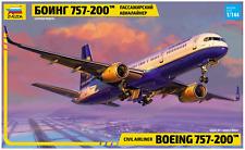 Civil Airliner Boeing 757-200 model kit 1/144 Zvezda 7032