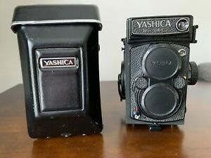 Yashica Mat 124G 6x6 TLR Medium Format Camera w/ 80mm f/2.8, f/3.5