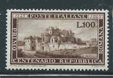 ITALY 1949 ROMAN REPUBLIC MINT HINGED FRESH LOOKING CATGB£500.00 BARGAIN!