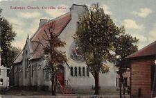 E34/ Orrville Ohio Postcard c1910 Lutheran Church Building 2