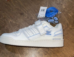 ADIDAS FORUM 84 LOW ADV SHOES GX1018 Footwear White/ Bluebird Men's Sz 8.5 Velcr