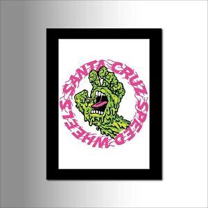 Skateboard Art Prints - Old School - Tribute Fan Art- Vector Art Prints A4  (m7