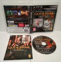 God of War Collection HD PS3 - Pal français - Comme neuf - Complet