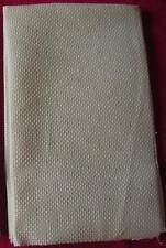 point de croix AIDA 5.5 ecru 50 x 40 cm coupon toile coton a broder 5 points