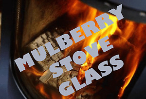 MULBERRY REPLACEMENT STOVE GLASS JOYCE, YEATS, BECKETT - MADE TO MEASURE
