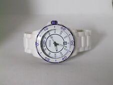 Fossil Women's CE-1050 White Ceramic Analog Quartz Watch