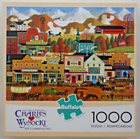jigsaw puzzle 1000 pc Pete's Gambling Hall Wysocki Americana Buffalo Games
