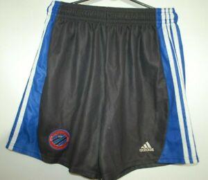 KV BRUGGE CLUB 2001 FOOTBALL SHORTS SOCCER ADIDAS SIZE M