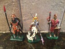 Toy Soldiers 3 Metal 54mm Medieval Knights