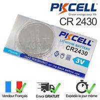 1 PILE CR2430 / CR 2430 / 3V LITHIUM / ENVOI RAPIDE