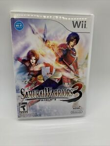 Samurai Warriors 3 (Nintendo Wii, 2010) complete, tested, very clean!