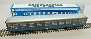 Märklin 4051 D-Train With Interior Design 1.Klasse DB Sheet Metal Good Boxed