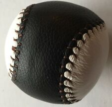 Amish Handmade Leather Rubber Filled Baseball for Corner Ball Game-Made in USA