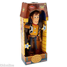 Woody Pull String Talking Doll Action Figure Large 40cm-disney Toy Story Genuine