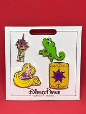 Walt Disney Four Pin Pack 4 Rapunzel Pins New DREAM BIG Princess Collection- New