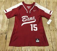 Alabama Crimson Tide Nike SAMPLE Softball Jersey NCAA College Womens Medium NWT