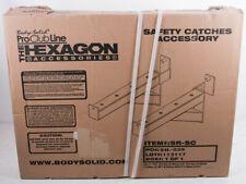 Body-Solid Sicherheitsbefestigung 2 in Box Sechskantaufsatz Einheitsgröße