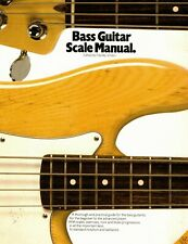 Bass Guitar Scale Manual IN Notation and Tab By Amsco Publications